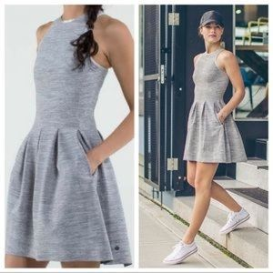 Lululemon size 4 here to there dress rare gray